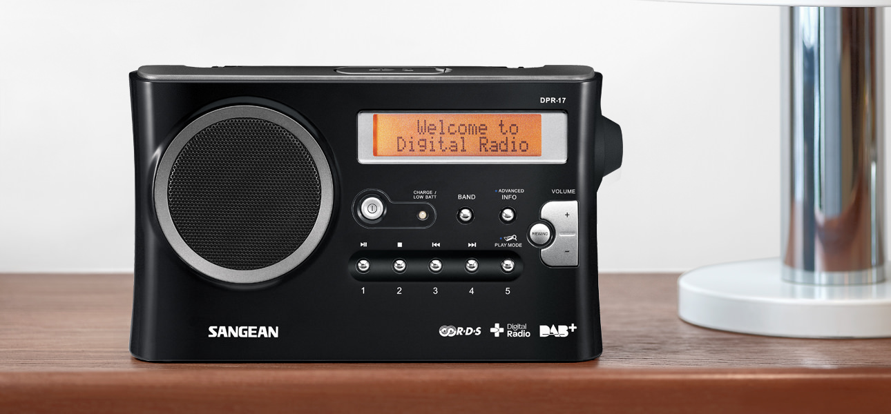 Sangean DPR-17+ Digital Radio