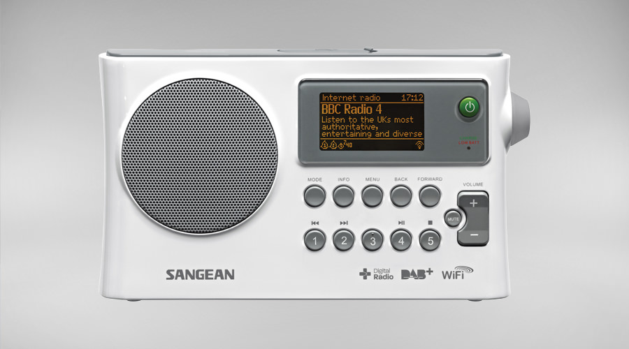 Sangean WFR-28C WIFI digital radio