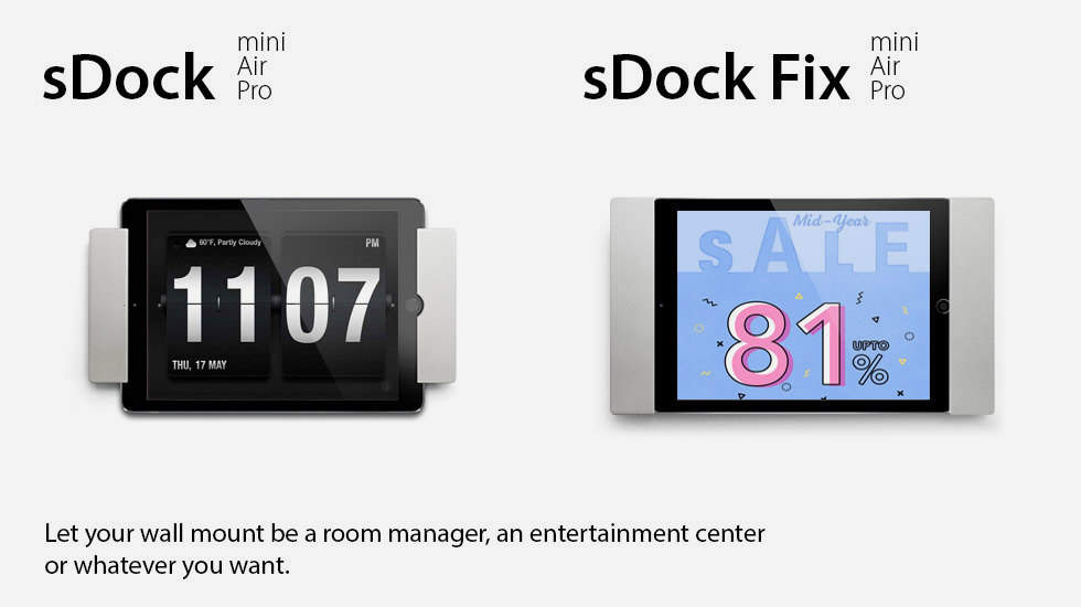 sDock and sDock Fix